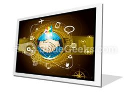 Global Business PowerPoint Icon F