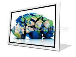 Global Destruction PowerPoint Icon F