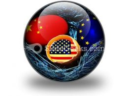 Global Economy PowerPoint Icon C  Presentation Themes and Graphics Slide01