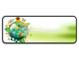Green Nature Earth PowerPoint Icon R