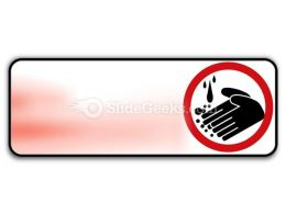 Hand Washing Circle PowerPoint Icon R