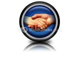 Handshake Icon Cc  Presentation Themes and Graphics Slide01