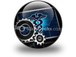 Health Sysytem PowerPoint Icon C