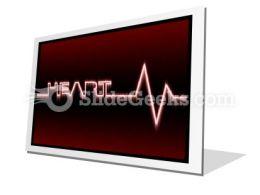 Heart Beat PowerPoint Icon F