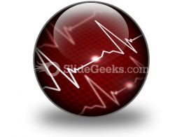Heart Rate PowerPoint Icon C