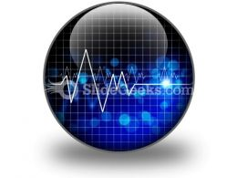 Heartbeat Medical PowerPoint Icon C