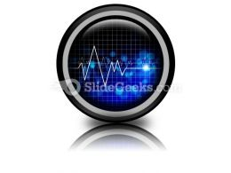 Heartbeat Medical PowerPoint Icon Cc
