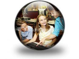Helpful Teacher PowerPoint Icon C
