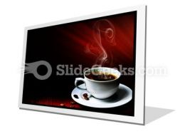 Hot Coffee PowerPoint Icon F