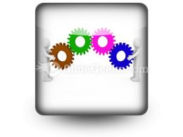 Human Gear PowerPoint Icon S
