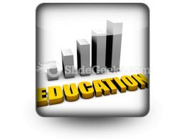 Increasing Costs Of Education PowerPoint Icon S