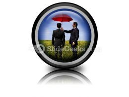 Insurance Agent PowerPoint Icon Cc