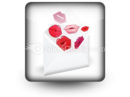 Love Mail PowerPoint Icon S