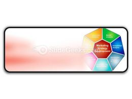 Marketing Strategies Development PowerPoint Icon R