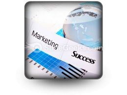 Marketing Success PowerPoint Icon S