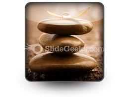Massage Stones PowerPoint Icon S