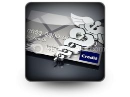 Medical Credit PowerPoint Icon S