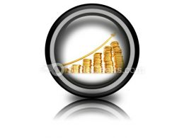 Money Chart Ppt Icon For Ppt Templates And Slides Cc