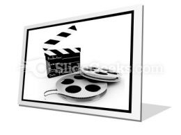 Movie Objects Clipper PowerPoint Icon F
