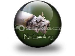 No Smoking PowerPoint Icon C