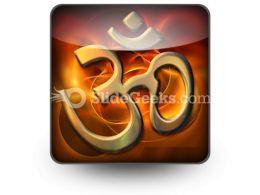 Om Religion PowerPoint Icon S