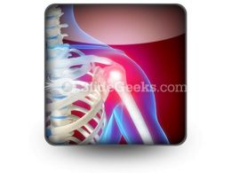 Pain In Shoulder PowerPoint Icon S