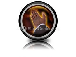 Prayer Of Fire PowerPoint Icon Cc