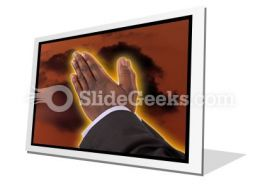 Prayer Of Fire PowerPoint Icon F