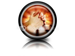 Prayer Warrior PowerPoint Icon Cc