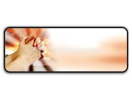 Prayer Warrior PowerPoint Icon R