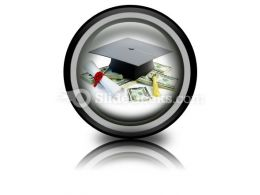 Price Leaving Certificate PowerPoint Icon Cc
