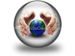 Protect The Earth Ppt Icon For Ppt Templates And Slides C