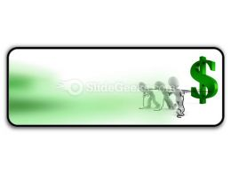 Pulling Dollar Symbol PowerPoint Icon R