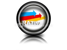 Rating Ppt Icon For Ppt Templates And Slides Cc