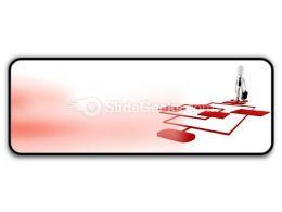 Red Diagram Chart PowerPoint Icon R