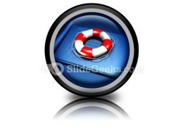 Rescue Plan PowerPoint Icon Cc