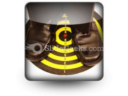 Right On Target PowerPoint Icon S