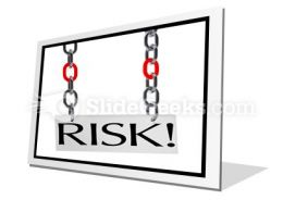Risk Hanging PowerPoint Icon F