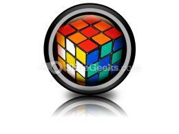 Rubix Cube Icon Cc
