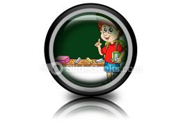 School Boy PowerPoint Icon Cc