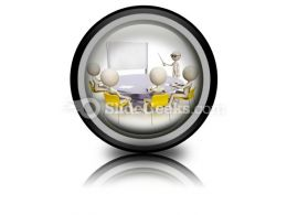 Teacher And Student Group PowerPoint Icon Cc
