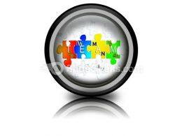Team Business PowerPoint Icon Cc