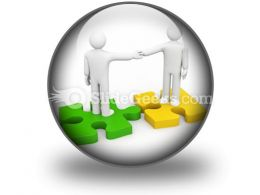 The Successful Agreement Business PowerPoint Icon C