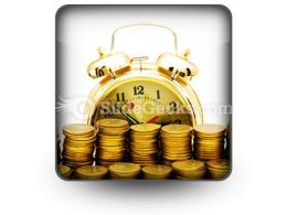 Time Is Money Concept Ppt Icon For Ppt Templates And Slides S
