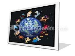 Zodiac Signs PowerPoint Icon F