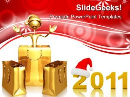 2011shopping Holidays PowerPoint Templates And PowerPoint Backgrounds 0311