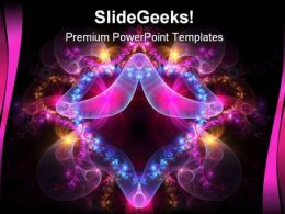 Abstract Beauty PowerPoint Template 0610  Presentation Themes and Graphics Slide01