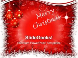 Abstract Christmas Background PowerPoint Templates And PowerPoint Backgrounds 0411