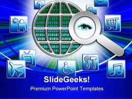 Access All Areas Internet PowerPoint Templates And PowerPoint Backgrounds 0511