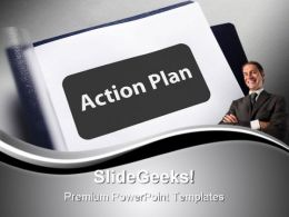 Action Plan Business PowerPoint Templates And PowerPoint Backgrounds 0911